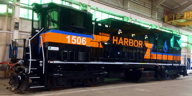 Indiana Harbor Belt Dual Fuel Locomotive Engine Systems